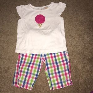 Two piece Gymboree outfit